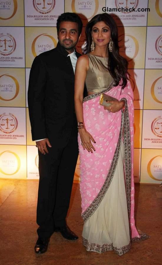 Shilpa Shetty with husband Raj Kundra 2014