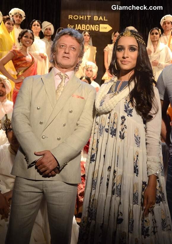 Shraddha Kapoor at Rohit Bal Jabong Show