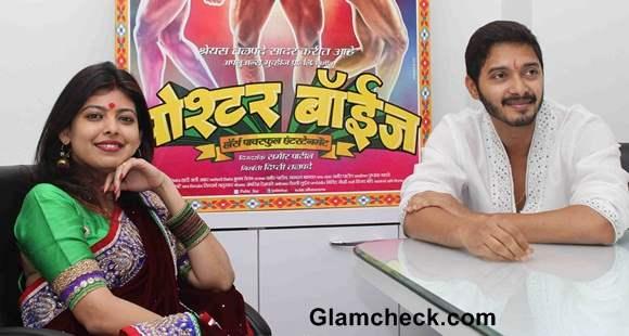 Shreyas Talpade with his wife Deepti