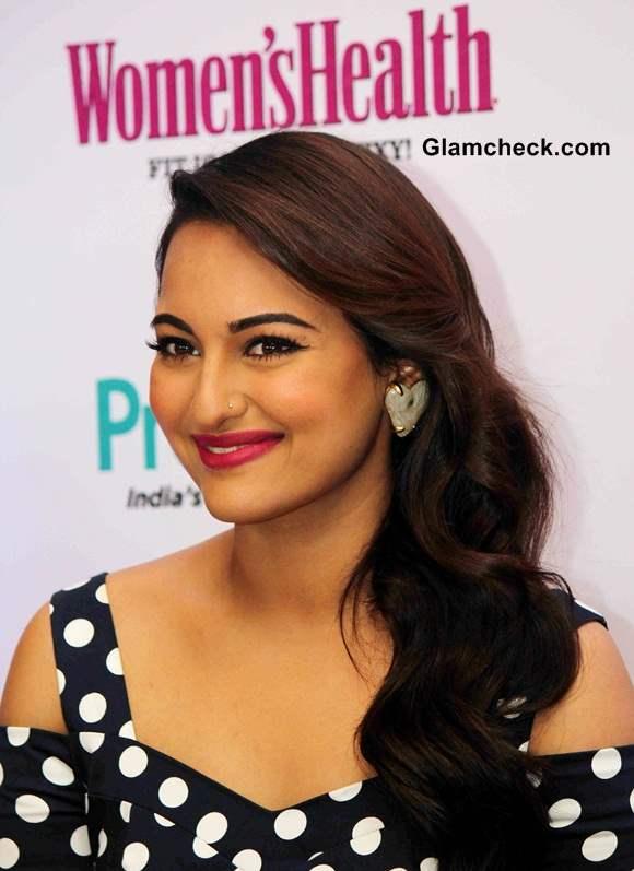 Sonakshi Sinha 2014 Hairstyle