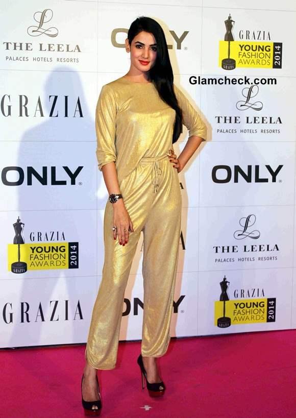 Sonal Chauhan at Grazia Young Fashion Awards 2014