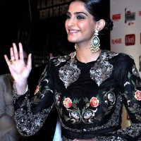Sonam Kapoor 2014 at First Vivel Filmfare Awards East