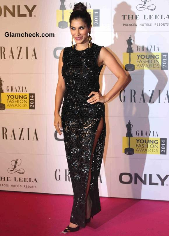 Sophie Choudry at Grazia Young Fashion Awards 2014