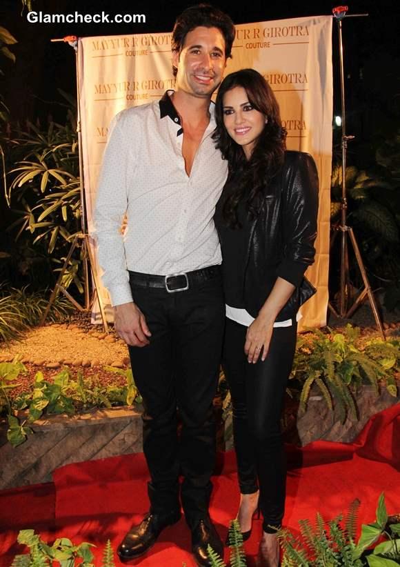 Sunny Leone with her husband Daniel Weber