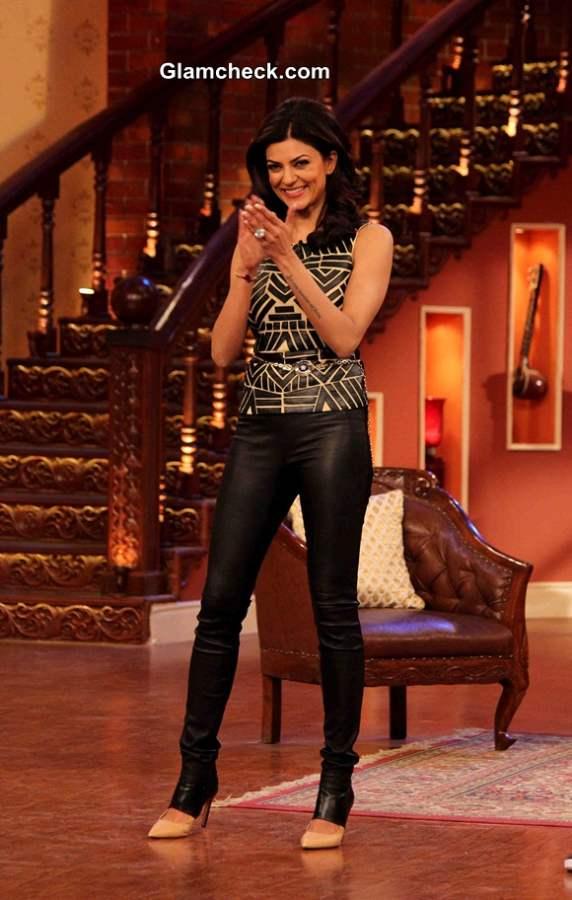 Sushmita Sen 2014 on Comedy Nights with Kapil