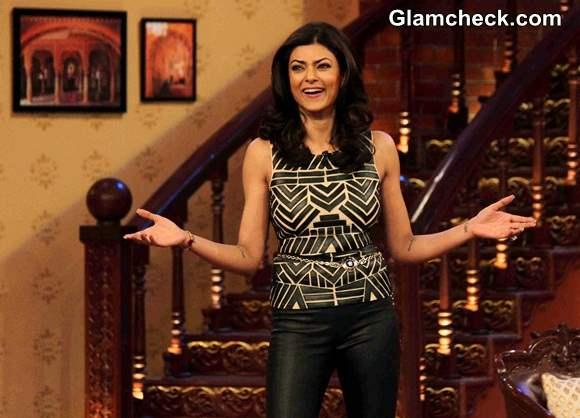 Sushmita Sen on Comedy Nights with Kapil 2014