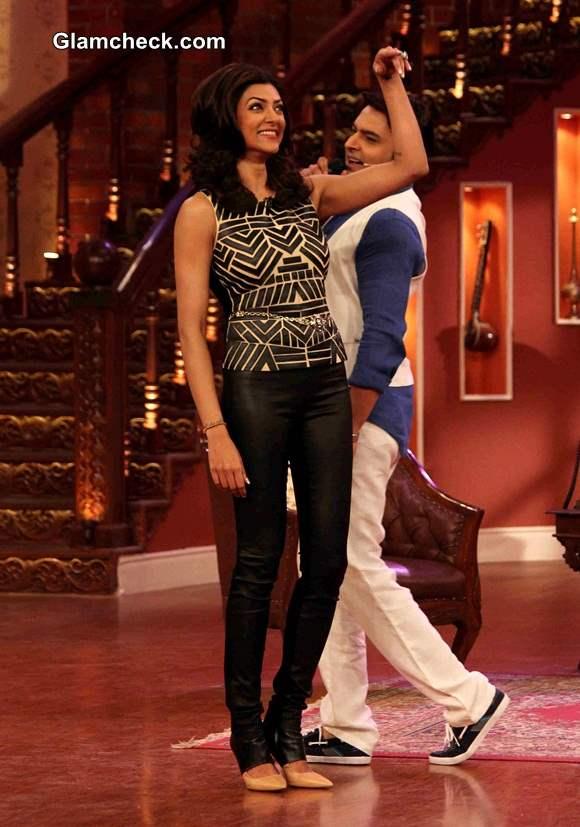 Sushmita Sen on Comedy Nights with Kapil