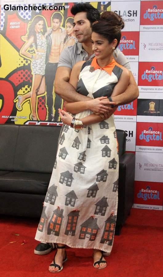 Varun and Ileana Main Tera Hero Promotions