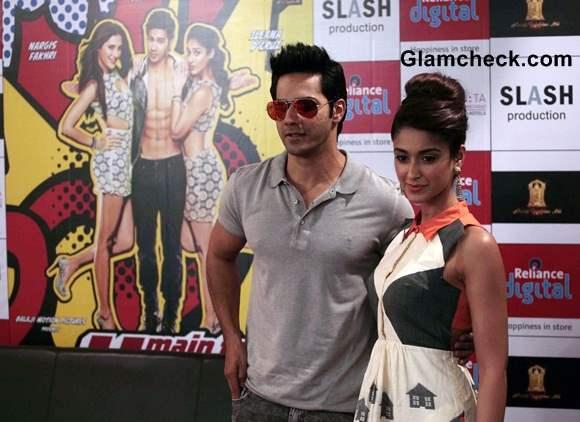 Varun and Ileana Promote Main Tera Hero