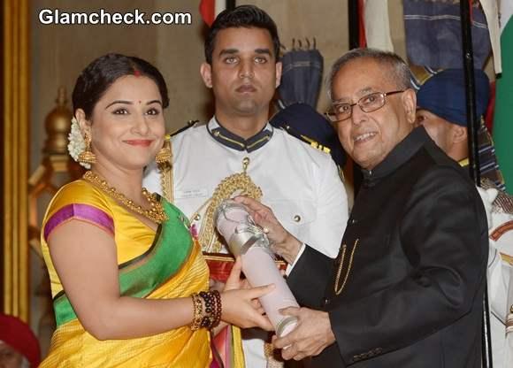 Vidya Balan Honoured with Padma Shri
