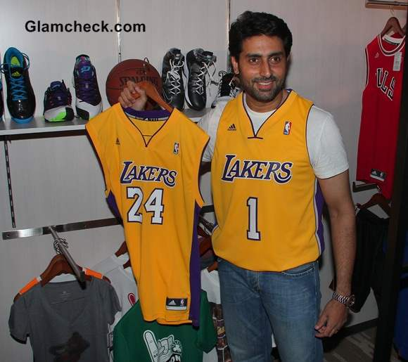 Abhishek Bachchan Launches India First Online NBA Store