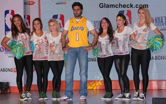 Abhishek Bachchan Launches Indias First Online NBA Store