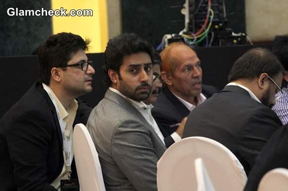 Abhishek Bachchan at Pro Kabaddi Leagues Inaugural Player Auction