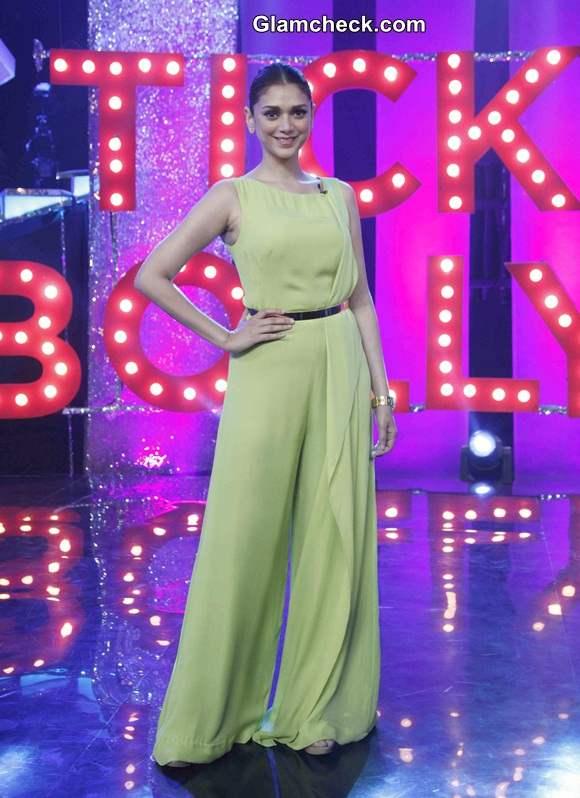 Aditi Rao Hydari 2014 on NDTV Primes Ticket to Bollywood