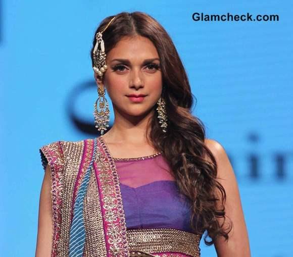 Aditi Rao Hydari  for Cancer Fundraising Fashion Show in Mumbai