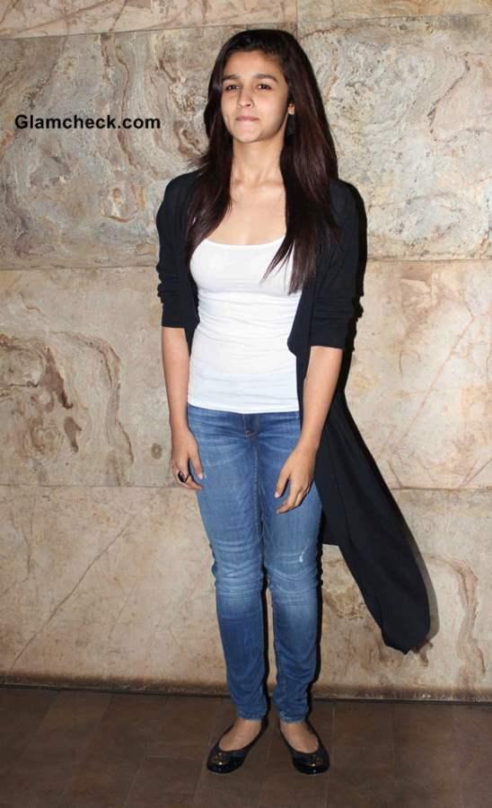 Alia Bhatt 2014 at Special Screening of Citylights