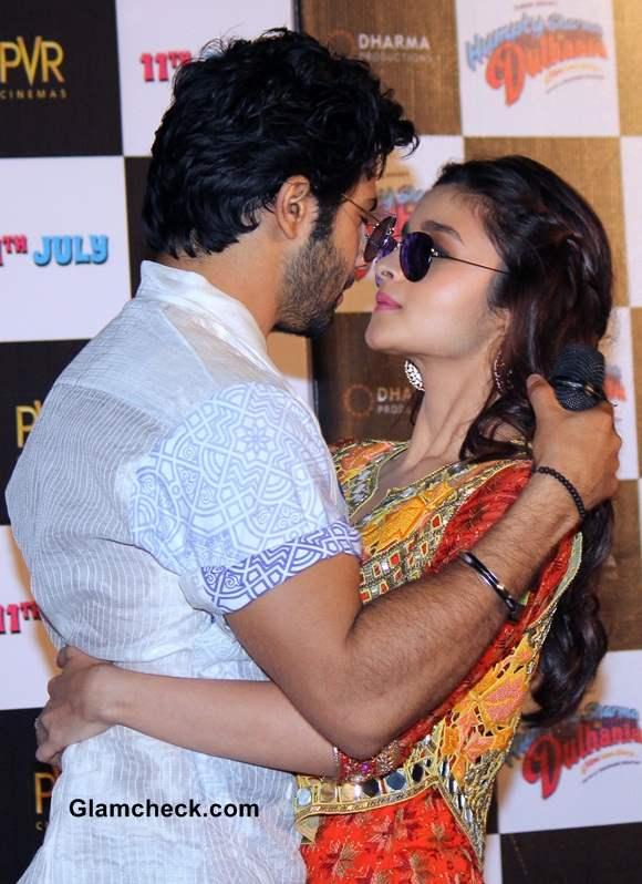 Alia Bhatt and Varun Dhawan Launch the Trailer of Humpty Sharma Ki Dulhania