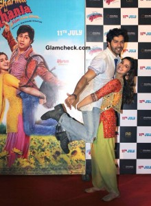 Alia Bhatt and Varun Dhawan Launch the Trailer of Humpty Sharma Ki Dulhania