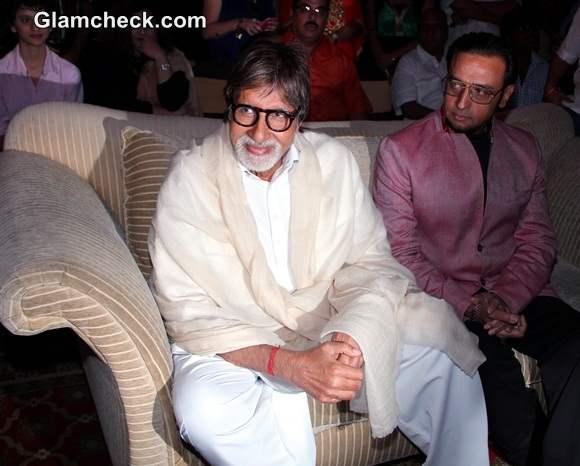 Amitabh Bachchan at Leader First Look