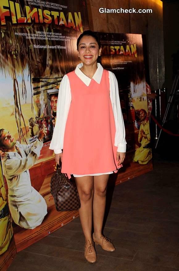 Amrita Puri at the Special Screening of Filmistaan in Mumbai