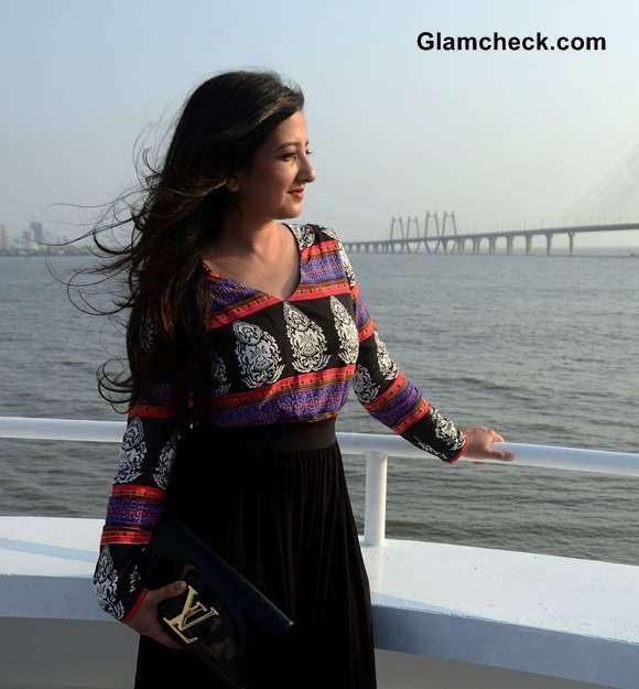 Amy Billimoria at Floating Restaurant AB Celestial Launch in Mumbai