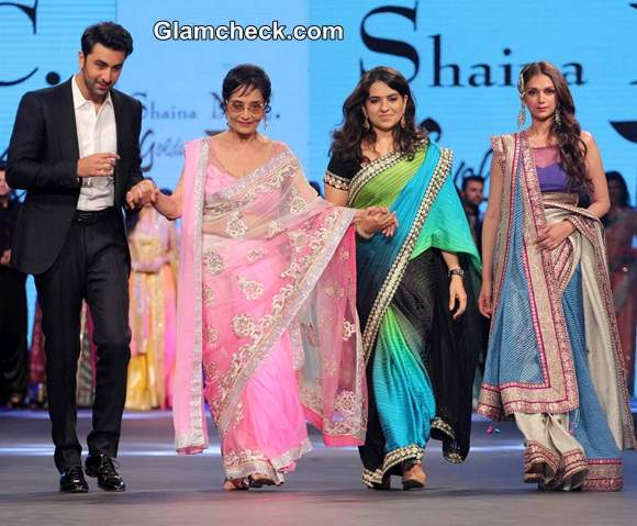 Celebs Walk the Ramp for Cancer Fundraising Fashion Show in Mumbai
