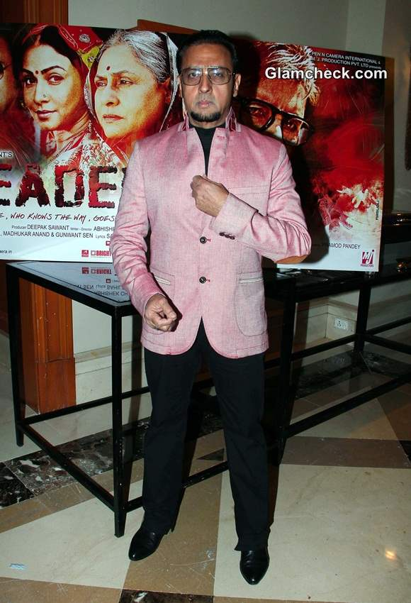 Gulshan Grover at  Leader First Look