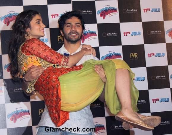 Humpty Sharma Ki Dulhania Trailer Launch Alia Bhatt Varun Dhawan
