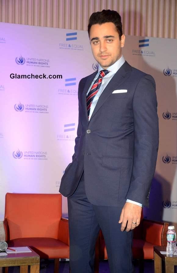 Imran Khan 2014 at UN LGBT-support Music Video Launch