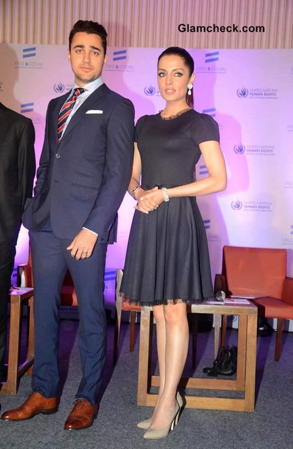 Imran Khan and Celina Jaitley Launch UN LGBT-support Music Video