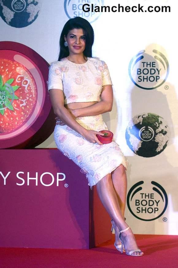 Jacqueline Fernandez in Drashta Outfit at Body Shop Event