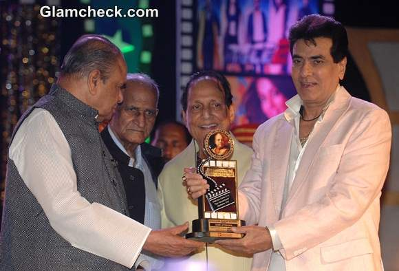 Jeetendra was awarded with the life time achievement award for his is contribution to the Indian Film Industry