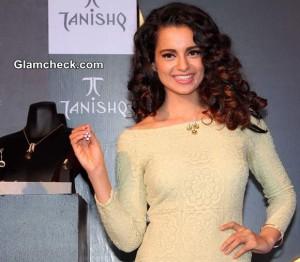 Kangana Ranaut Launches Tanishq IVA 2 Collection in Mumbai