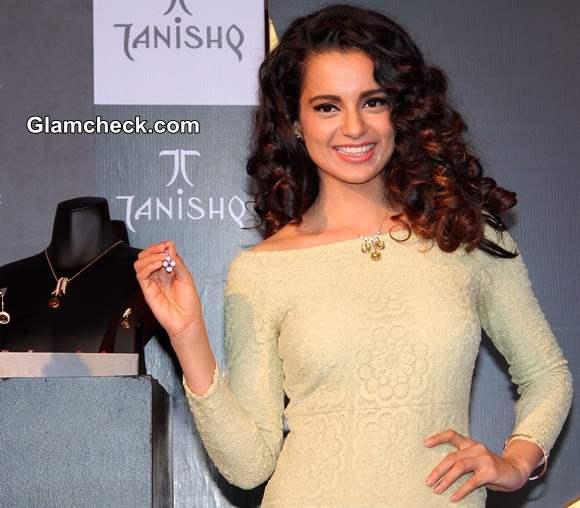Kangana Ranaut Launches Tanishq IVA 2 Collection