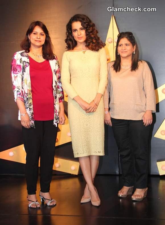 Kangana Ranaut at Tanishq IVA 2 Collection Launch in Mumbai