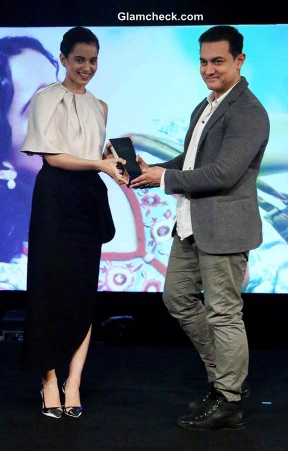 Kangana Ranaut in Dior at NDTV Indian of the Year Awards