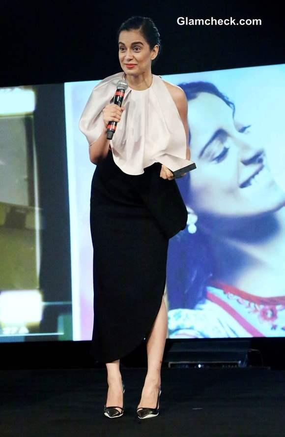Kangana Ranaut in Dior outfit at NDTV Indian of the Year Awards