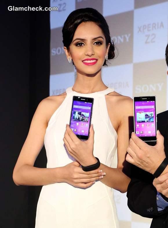 Koyal Rana Launches Sony Xperia Z2 in Delhi