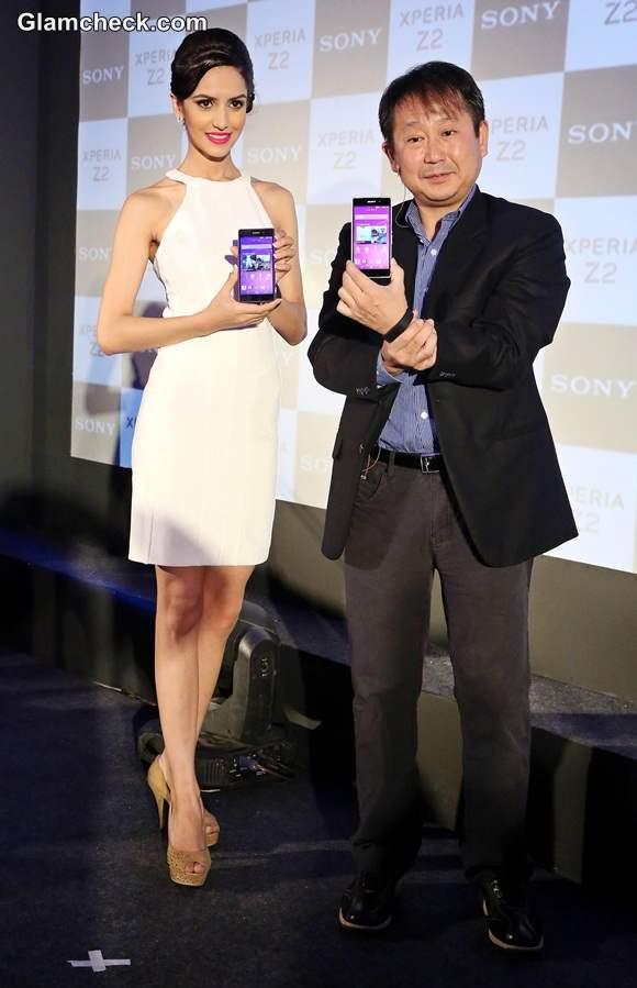 Koyal Rana Launches Sony Xperia Z2