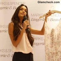 Lisa Haydon Launches Marks Spencers Lingerie Store in Mumbai