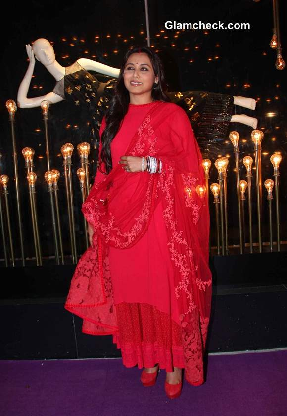 Newly Married Rani Mukherjee Pictures