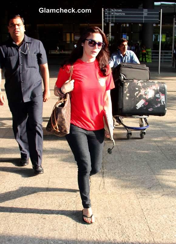 Preity Zinta 2014 Casual Look
