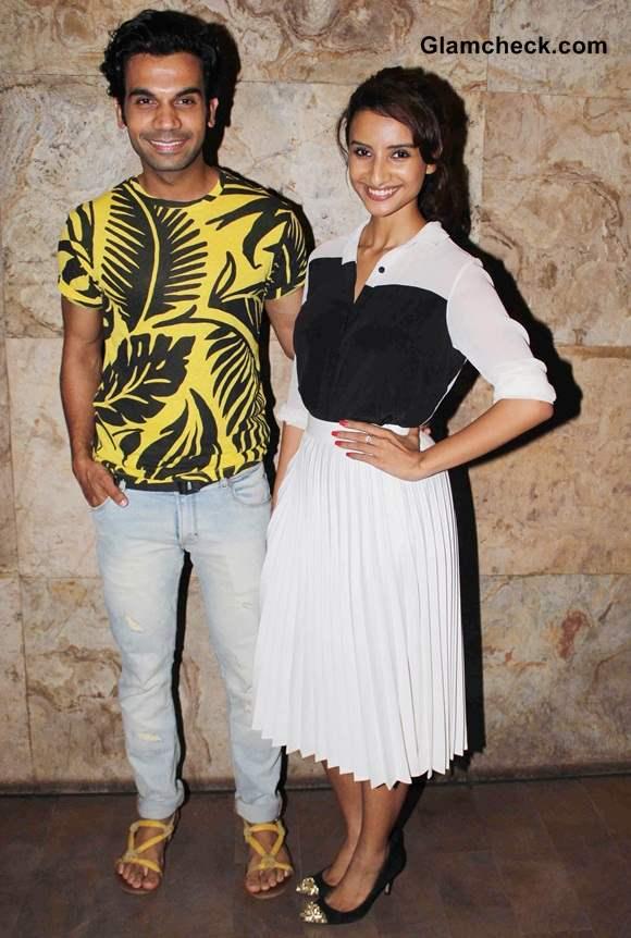 Rajkumar Rao and Patralekha