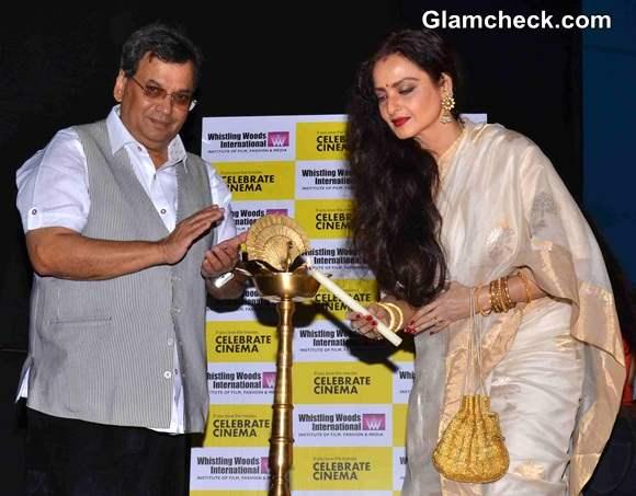Rekha Inaugurates Celebrate Cinema Festival 2014