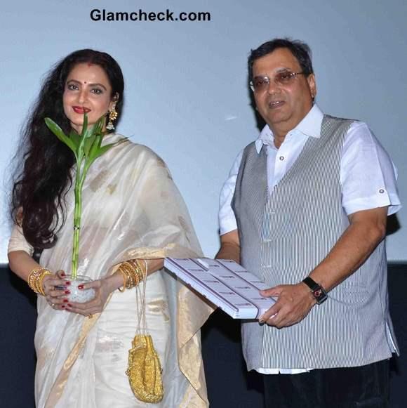 Rekha Inaugurates Celebrate Cinema festival
