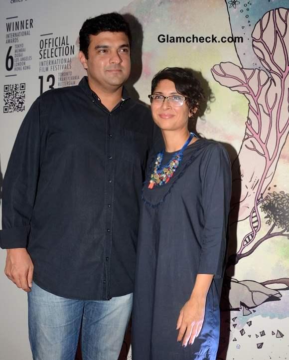 Siddharth Roy Kapoor and filmmaker Kiran Rao