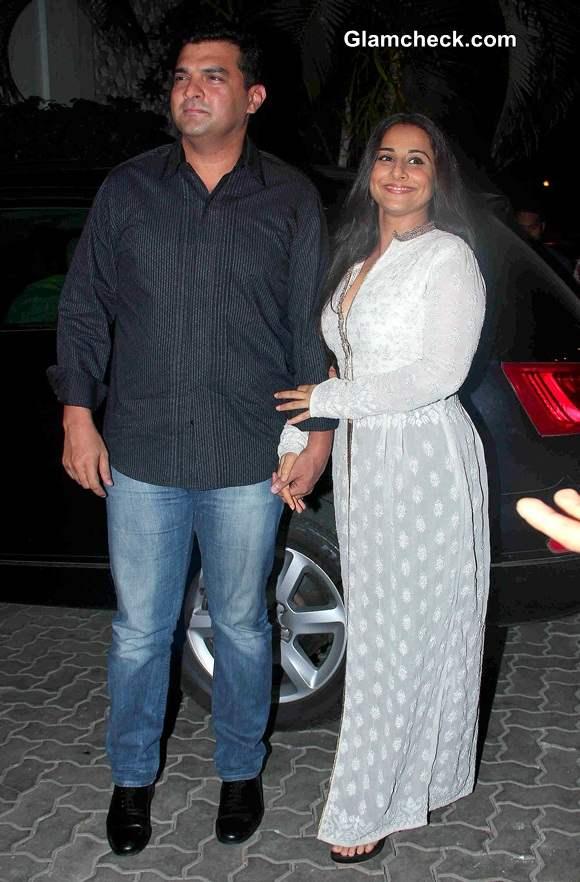 Siddharth Roy Kapoor with his wife Vidya Balan