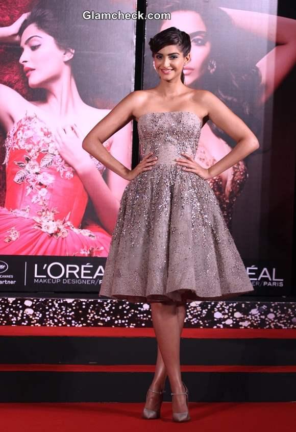 Sonam Kapoor in Elie Saab Couture 2014