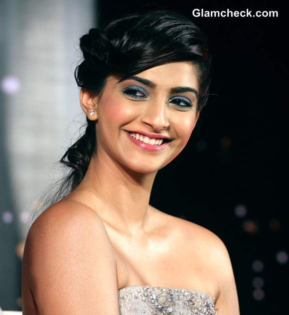 Sonam Kapoor 2014 at  LOreals New Makeup Collection Launch