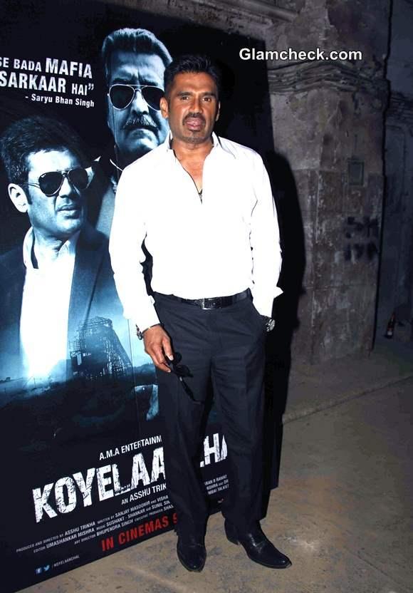 Suniel Shetty Promotes Koyelaanchal